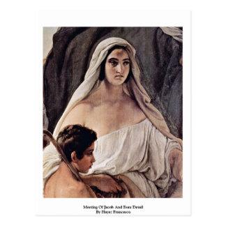 Sitzung von Jakob und von Esau Sonderkommando Postkarte
