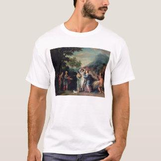 Sitzung von Jakob und von Laban mit Rachel, Leah T-Shirt