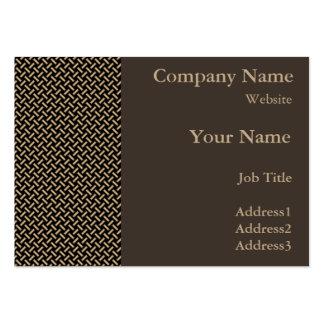 Sitzungssaal-Entscheidungs-Visitenkarten Mini-Visitenkarten