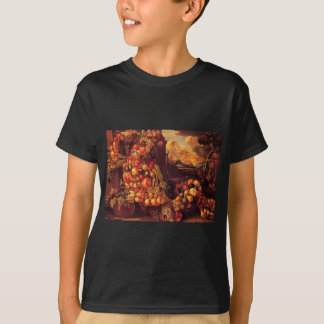 Sitzzahl des Sommers durch Giuseppe Arcimboldo T-Shirt