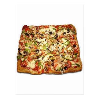 SIZILIANISCHE PIZZA-TORTE POSTKARTE