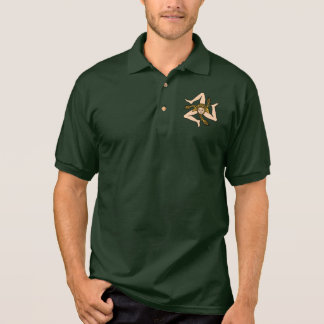 Sizilianisches triskelion Polo-Shirt Poloshirt