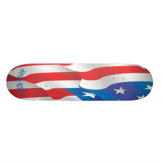 Sk8-ers Flagge-Skateboard Skate Board