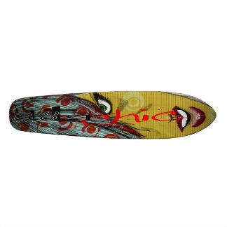 sk8ter Chicregel! 19,1 Cm Old School Skateboard Deck