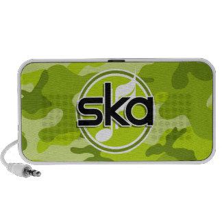 Ska hellgrüne Camouflage Tarnung Mobiler Speaker