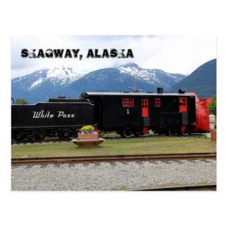 Skagway, Alaska Postkarte