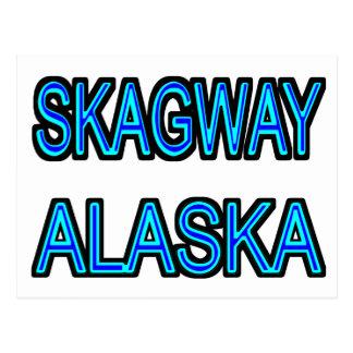 Skagway Alaska Postkarte