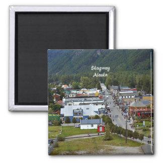 Skagway, Alaska Quadratischer Magnet