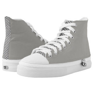 Skala-Druck-Schuhe Hoch-geschnittene Sneaker