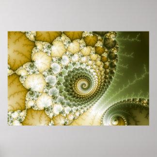 Skala-Fraktal-Kunst Plakatdruck