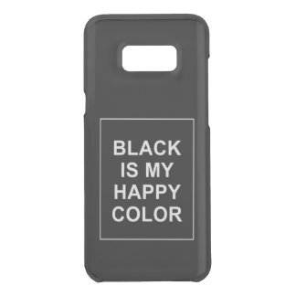 SKAM - BLACK IS MY HAPPY COLOR GET UNCOMMON SAMSUNG GALAXY S8 PLUS HÜLLE