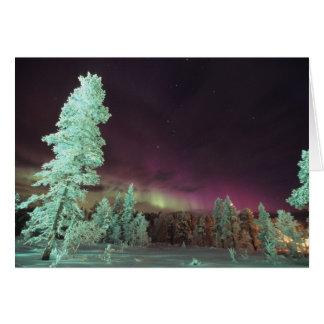 Skandinavien, Finnland, Lappland, Kakslauttanen, Karte