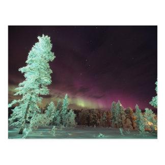 Skandinavien, Finnland, Lappland, Kakslauttanen, Postkarte