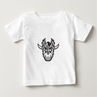 Skandinavier-Gott Odin HauptRetro Baby T-shirt