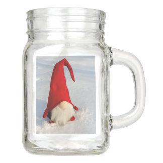 Skandinavischer WeihnachtsGnome Einmachglas