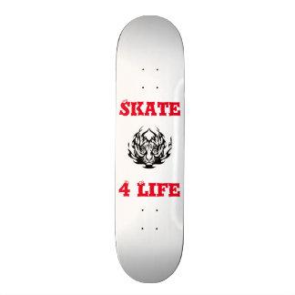 SKATE 4 LEBENskateboard-PLATTFORM 20,6 Cm Skateboard Deck