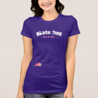 skate free womens skateboard shirt gsbgrind skate
