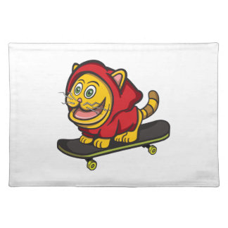 Skate-Katze Tischset