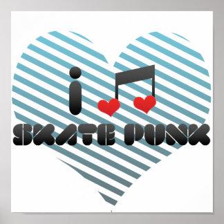 Skate-Punk Plakate