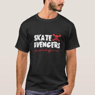 Skate-Rächer-Dunkelheits-T - Shirt