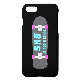 Skate sind nicht ein Verbrechen Skateboard iPhone 8/7 Hülle