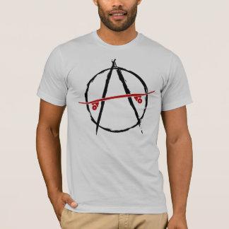 Skateanarchie-Licht-T - Shirt