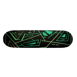 Skateboard 19,7 cm Blacklight 360