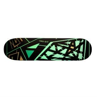 Skateboard 20,0 cm Blacklight 360