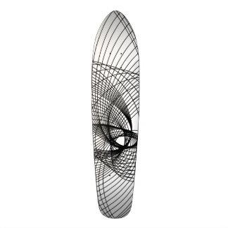 Skateboard abstract design individuelle skateboards