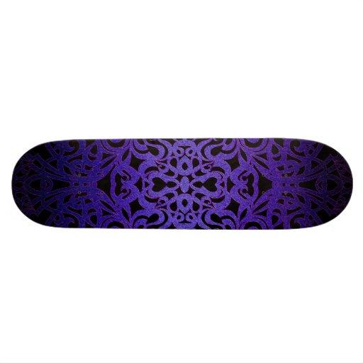 Skateboard-barocke Art-Inspiration Skateboardbrett