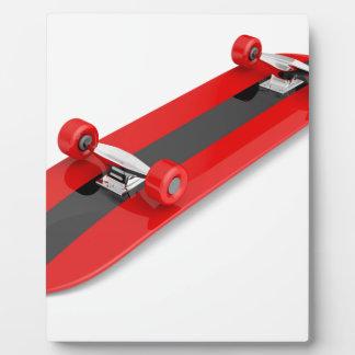 Skateboard Fotoplatte