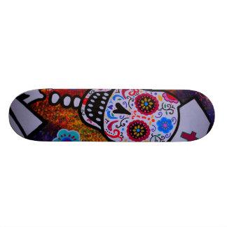 Skateboard KRANKENSCHWESTER DIA DE LOS MUERTOS Personalisiertes Skateboard