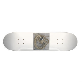 Skateboard mit Klapperschlange Personalisiertes Skateboarddeck