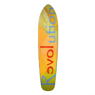 Skateboard ReLOVEution Entwurf 1 multi Personalisierte Skateboarddecks