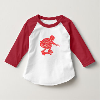 Skateboard-Typografie - KinderSkate-Shirts T-Shirt