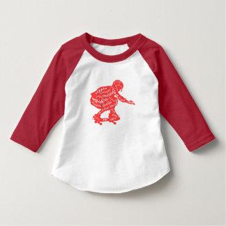Skateboard-Typografie - Skater-Kleinkind-Kleidung T-Shirt