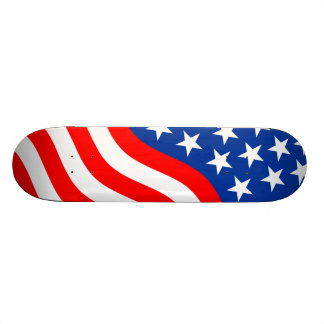Skateboard-US Flagge 2 19,7 Cm Skateboard Deck