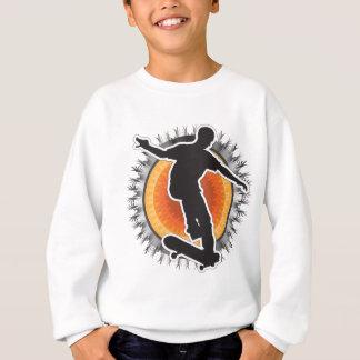 Skateboardfahrer-Entwurf Sweatshirt