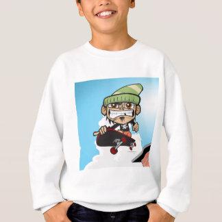 Skateboarding dünn sweatshirt