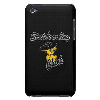Skateboarding Küken #4 iPod Touch Cover