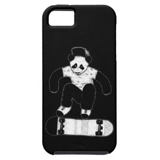 Skateboarding Panda iPhone 5 Etuis