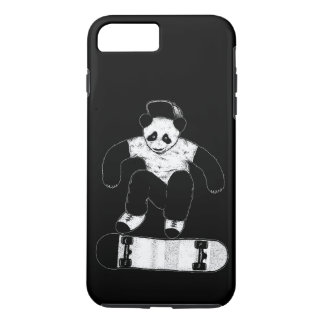Skateboarding Panda iPhone 8 Plus/7 Plus Hülle