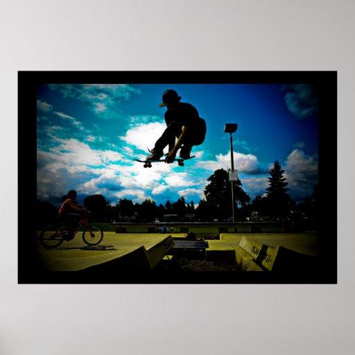 Skateboarding Plakat