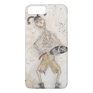 Skateboarding Skelett iPhone 8 Plus/7 Plus Hülle