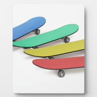 Skateboards Fotoplatte