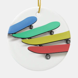 Skateboards Keramik Ornament