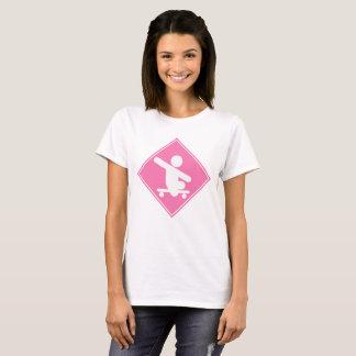 Skateboardüberfahrt T-Shirt