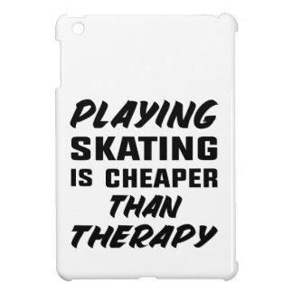 Skaten zu spielen ist billiger als Therapie iPad Mini Hülle