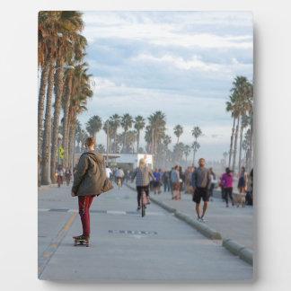 Skaten zu Venedig-Strand Fotoplatte