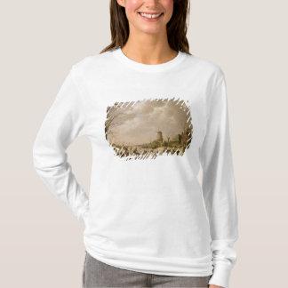 Skater auf einem gefrorenen Kanal, 1779 T-Shirt